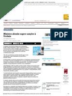 Ministro Alemão Sugere Sanções à Ucrânia - 04-02-2014 - Mundo - Folha de S