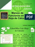 DFD2014 Manejo de Funciones