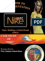 Nike Case Study (Building a Global Brand Image)