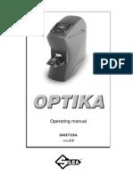SILCA Optika Manual