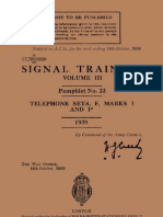 Telephone Set F Mk I - 1939 (STV3 P23)