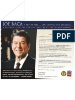 Joe Baca Reagan Mailer