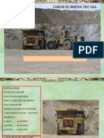Operacion Camion Minero 785c Haa