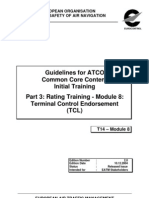 Guidelines for ATCO Common Core Content Initial Training _Part 3_MOD 8_TCL