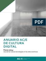 Anuario ACE Cultura Digital 2014