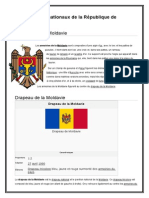Les Symboles Nationaux de La République de Moldavie