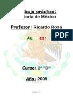 Trabajo Práctico de Historia Mexico Final
