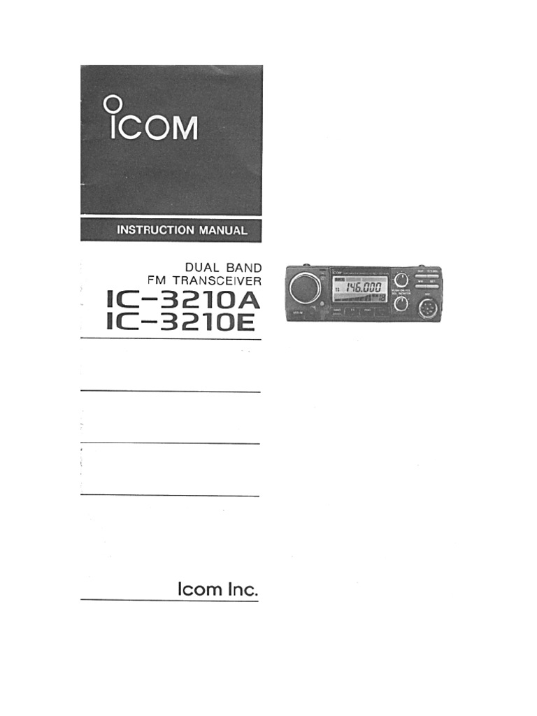 ICOM IC-3210E