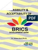 Feasibility and Acceptability of BRICS Development Bank