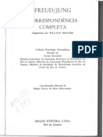 William Mc Guire - Freud Jung - Correspondência Completa