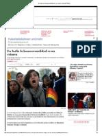 En India La Homosexualidad Es Un Crimen