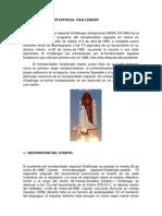 El Transbordador Espacial Challenger