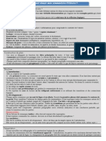 Fiche Synthese Commentaire