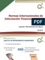 Sesión Instrumentos Financieros - SESIÓN 02 - EV - PRESENTACIÓN