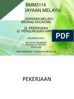 Kebudayaan Melayu (Bidang Ekonomi)-1
