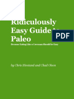 Ridiculousy Easy Paleo Guide