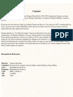 Bizet Georges - Carmen - Libreto Bilingue