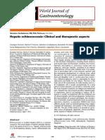 WJG PUBMED Hepatic Echinococcosis