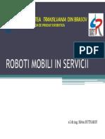 Curs Roboti Mobili in Servicii