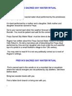 Freya Qarwe Ritual PDF