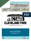 Cleveland Park Transportation Study – Final Report