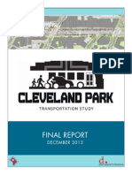 Cleveland Park Transportation Study – Final Report