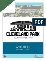 Cleveland Park Transporation Study – Final Report Appendices