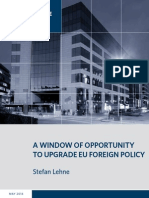 A Window of Opportunity to Upgrade EU Foreign Policy