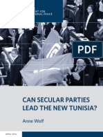 Can Secular Parties Lead the New Tunisia?