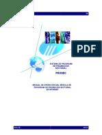 Manual Prosec en Internet