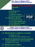 Curs 2 - Tehnologii de Fabricare  Asistate de Ccalculator