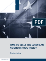 Time to Reset the European Neighborhood Policy