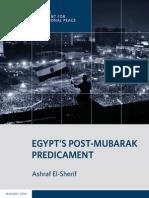 Egypt's Post-Mubarak Predicament