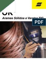 Catálogo de Arames Sólidos ESAB
