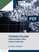 Tehran Calling