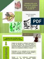 PRESENTACION.Introducción a la Educación Artística en el co.pptx