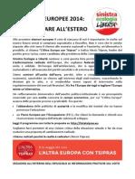 Elezioni Europee 2014 Vademecum