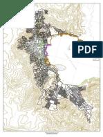 Plano Base de La Ciudad de Puno 8