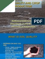 Soil Quality Crop Prod