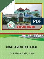 Obat Anestesi Lokal