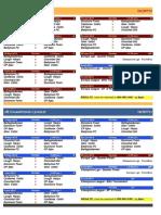 2014 - u8 Fixtures - North