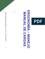 Ergonomía - Manejo Manual de Cargas