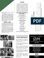SIM Brochure