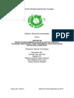 IMPACTOS MEDIOAMBIENTALES EN EL SECTOR AGRÍCOLA Síntesis.pdf