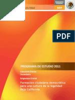 Plan y Programas Asignatura Estatal 2011