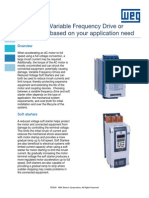 WEG Vfds vs Soft Starters White Paper Vfdsvssoftstarters Technical Article English