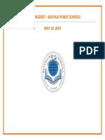 2014 15 Buffalo Public Schools budget