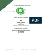Síntesis y reflexión de Calidad de vida un analisis de su dimensión psicológica.pdf