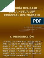 La Teoria Del Caso en La Nueva Ley Procesal Del Trabajo