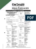 Ley General de Sociedades Peru